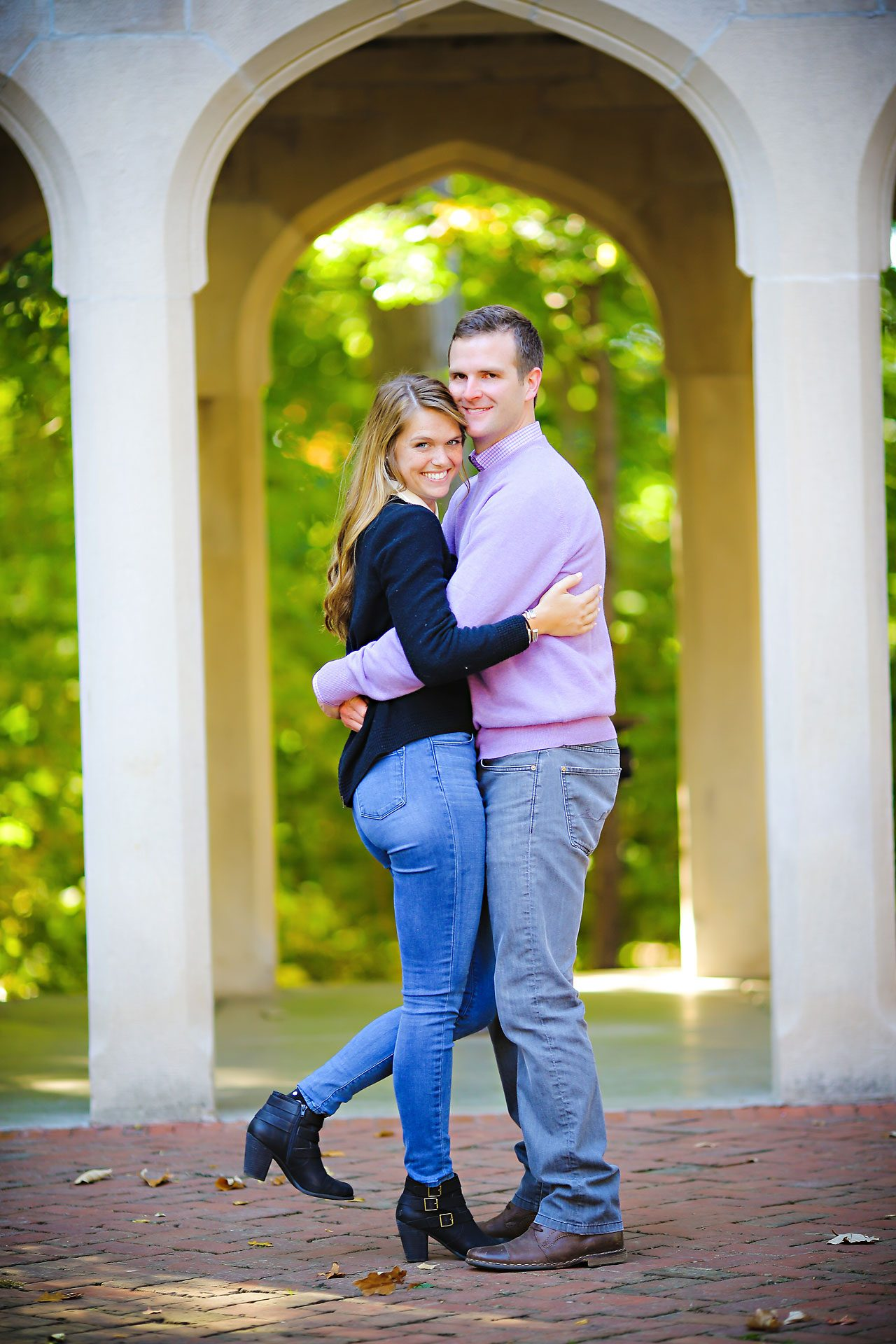 049 Brooke Tyler Indiana University Engagement Session