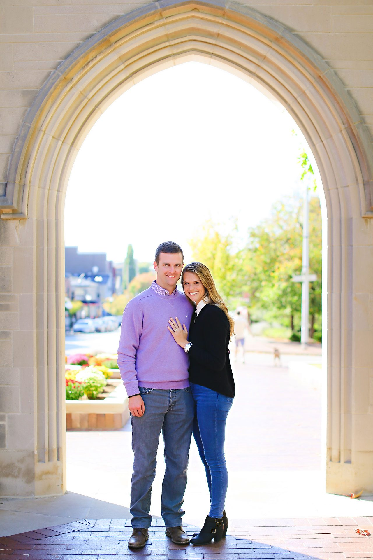 057 Brooke Tyler Indiana University Engagement Session