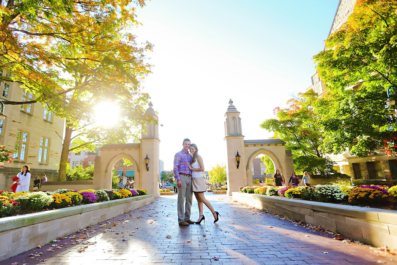 078 Brooke Tyler Indiana University Engagement Session