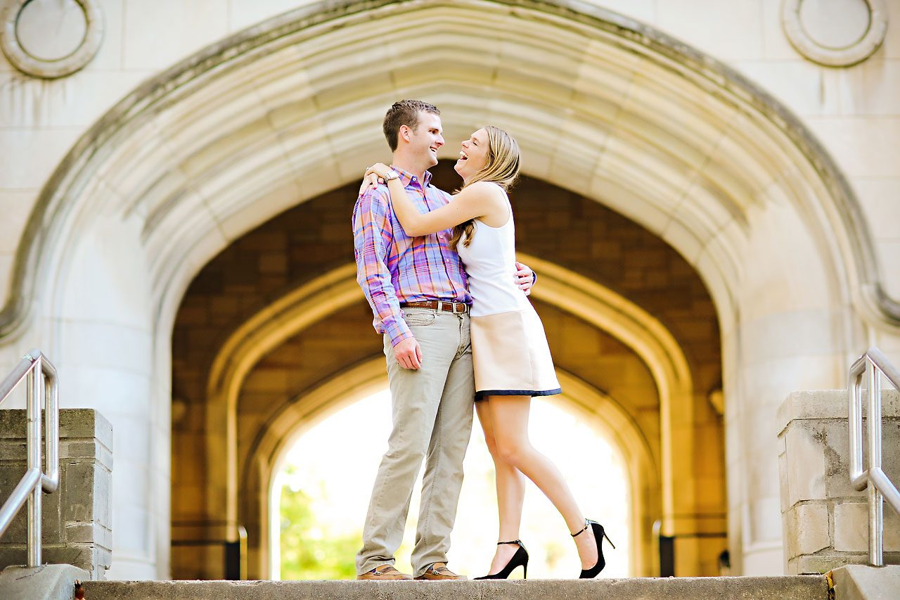 Brooke Tyler Indiana University Engagement Session