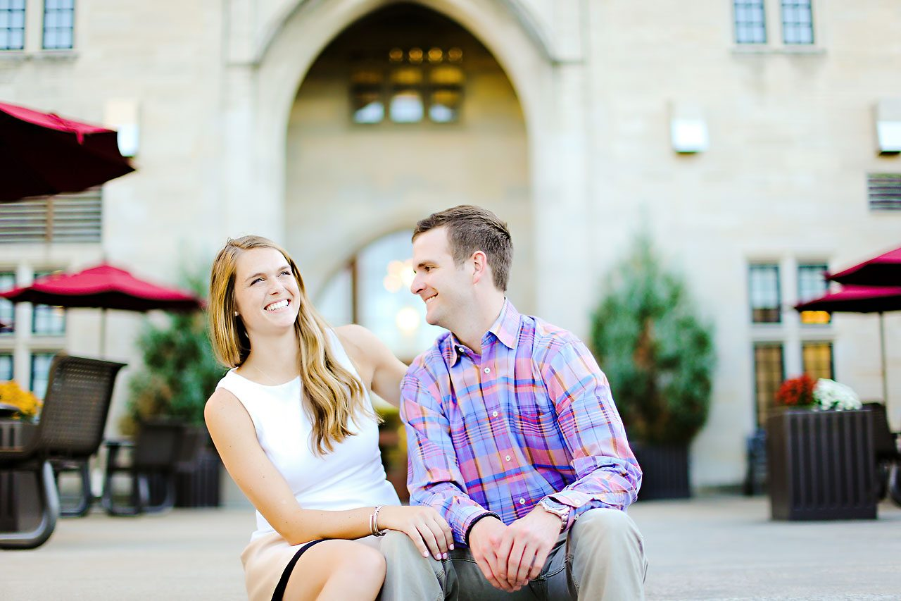 092 Brooke Tyler Indiana University Engagement Session