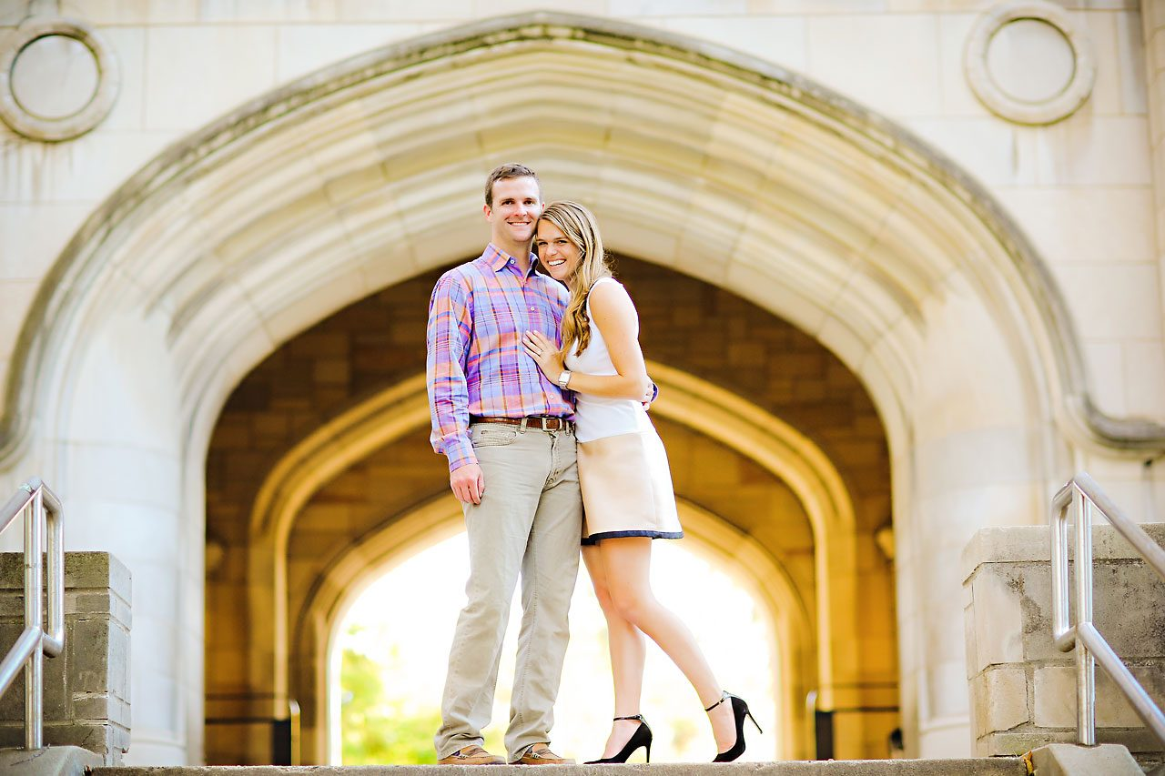 110 Brooke Tyler Indiana University Engagement Session