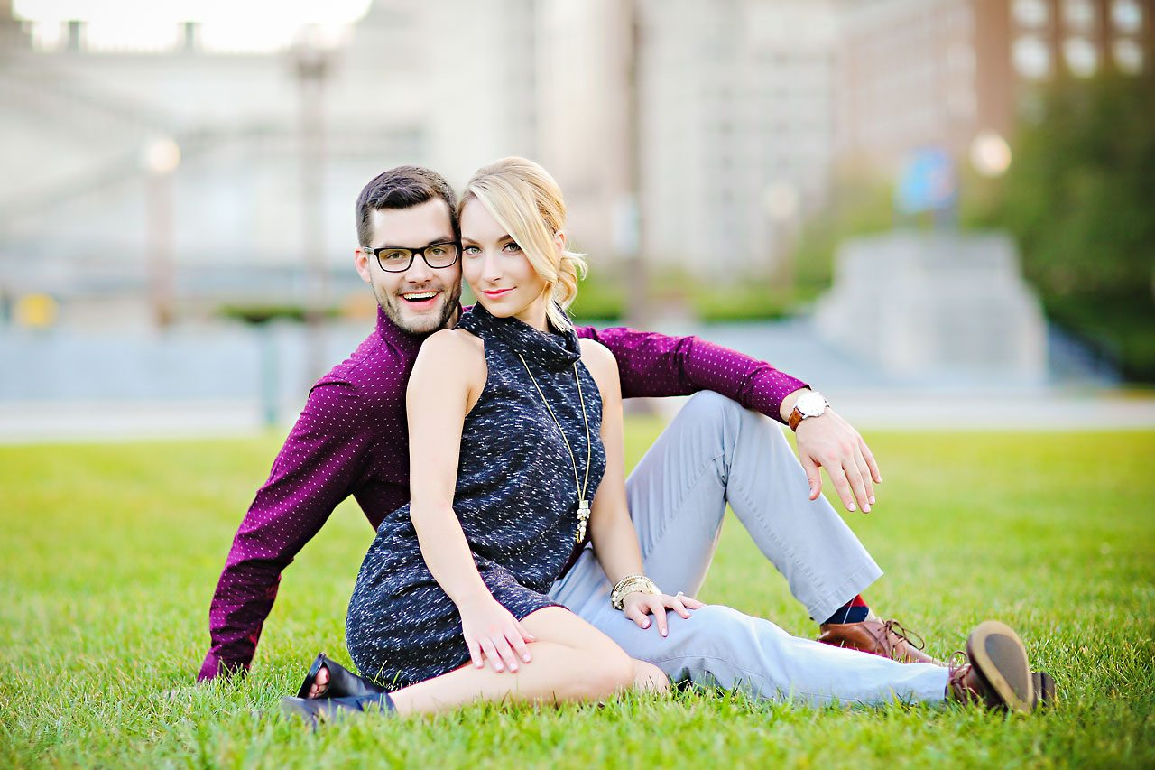 162 Meaghan Matt Indianapolis Engagement Photographer