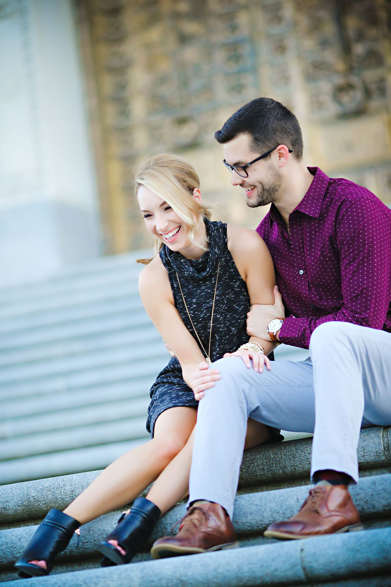 166 Meaghan Matt Indianapolis Engagement Photographer