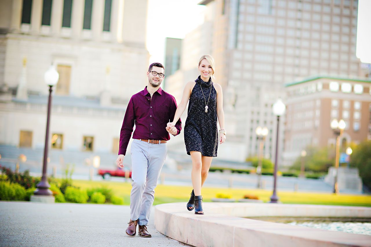 181 Meaghan Matt Indianapolis Engagement Photographer