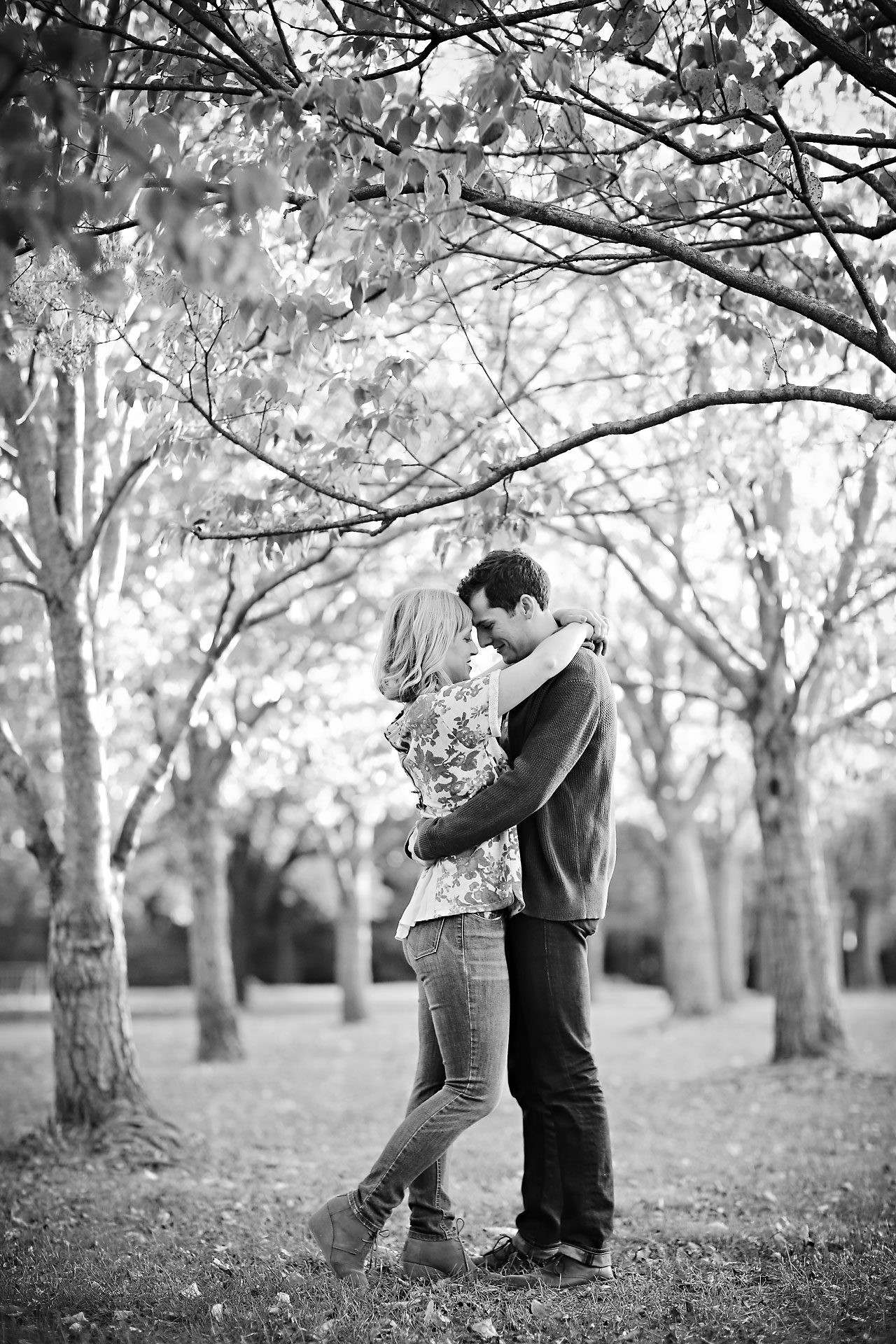 401 Morgan Julian Fall Engagement Session Indianapolis
