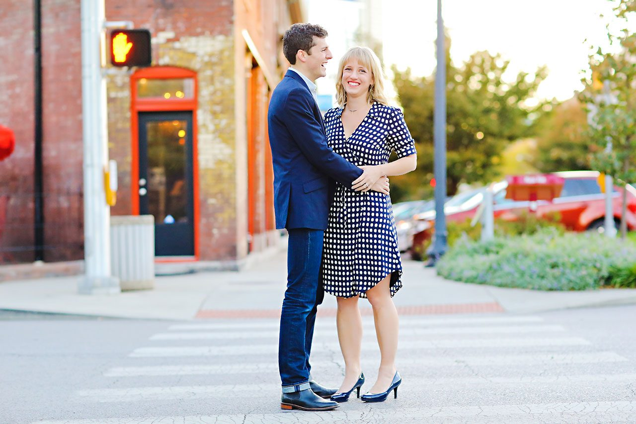 404 Morgan Julian Fall Engagement Session Indianapolis