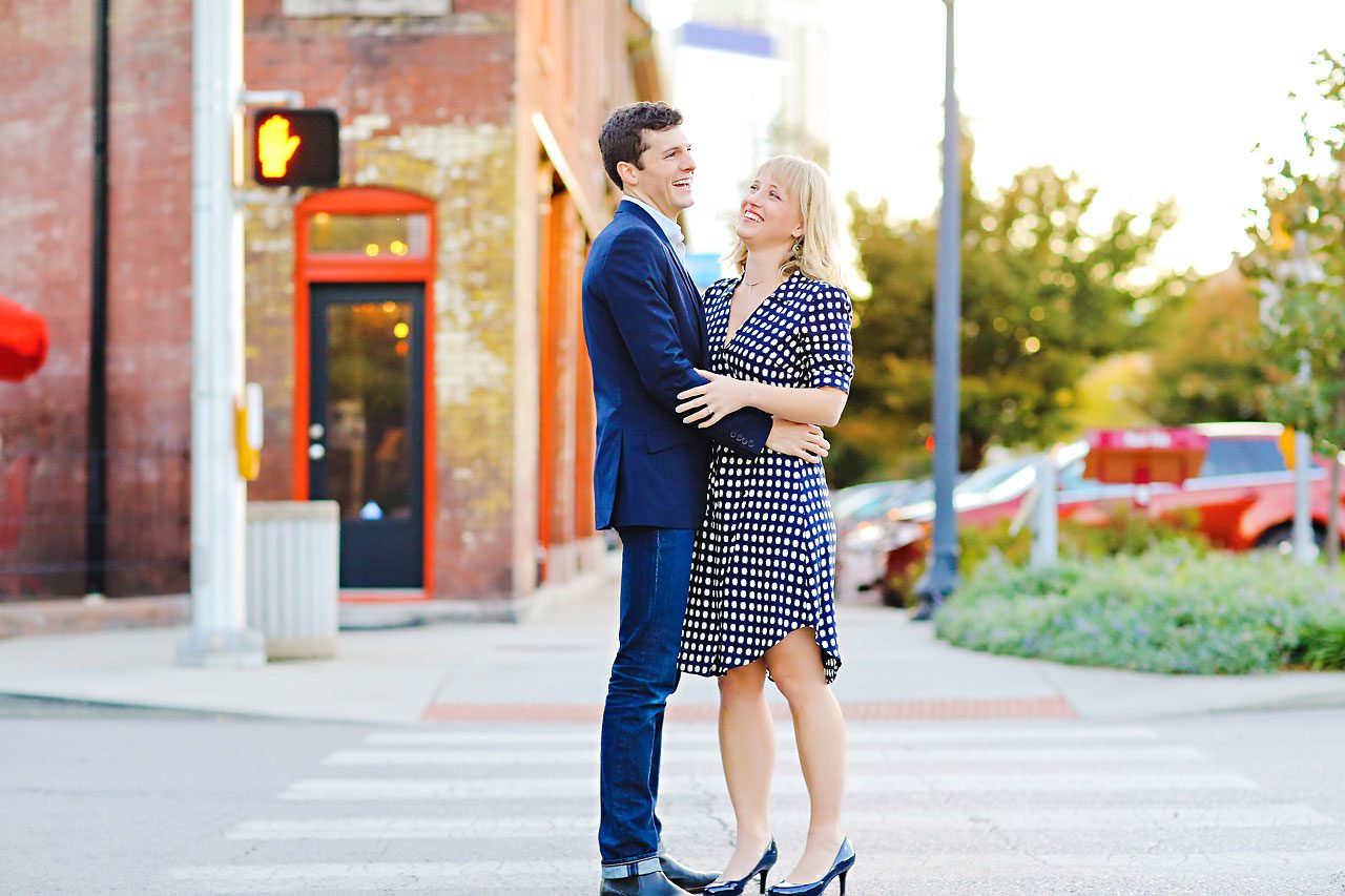 415 Morgan Julian Fall Engagement Session Indianapolis