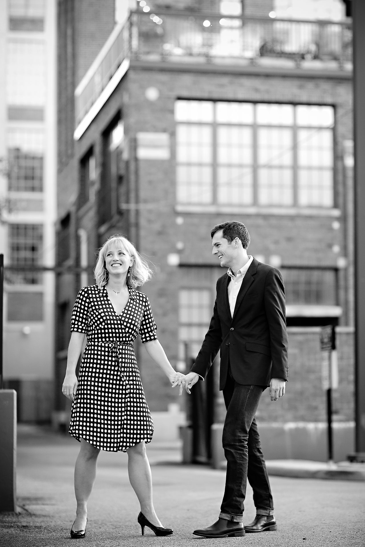 444 Morgan Julian Fall Engagement Session Indianapolis