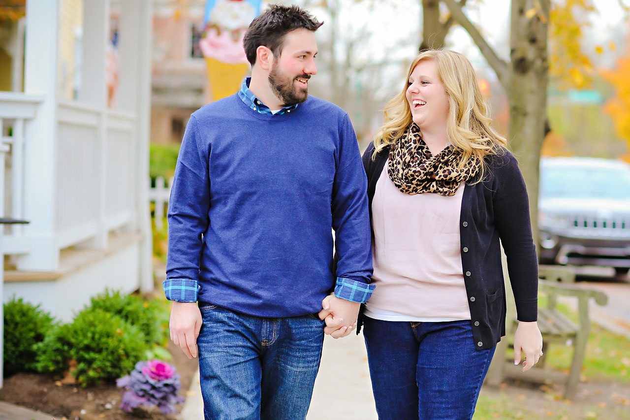 011 Kellie Greg Zionsville Engagement Session