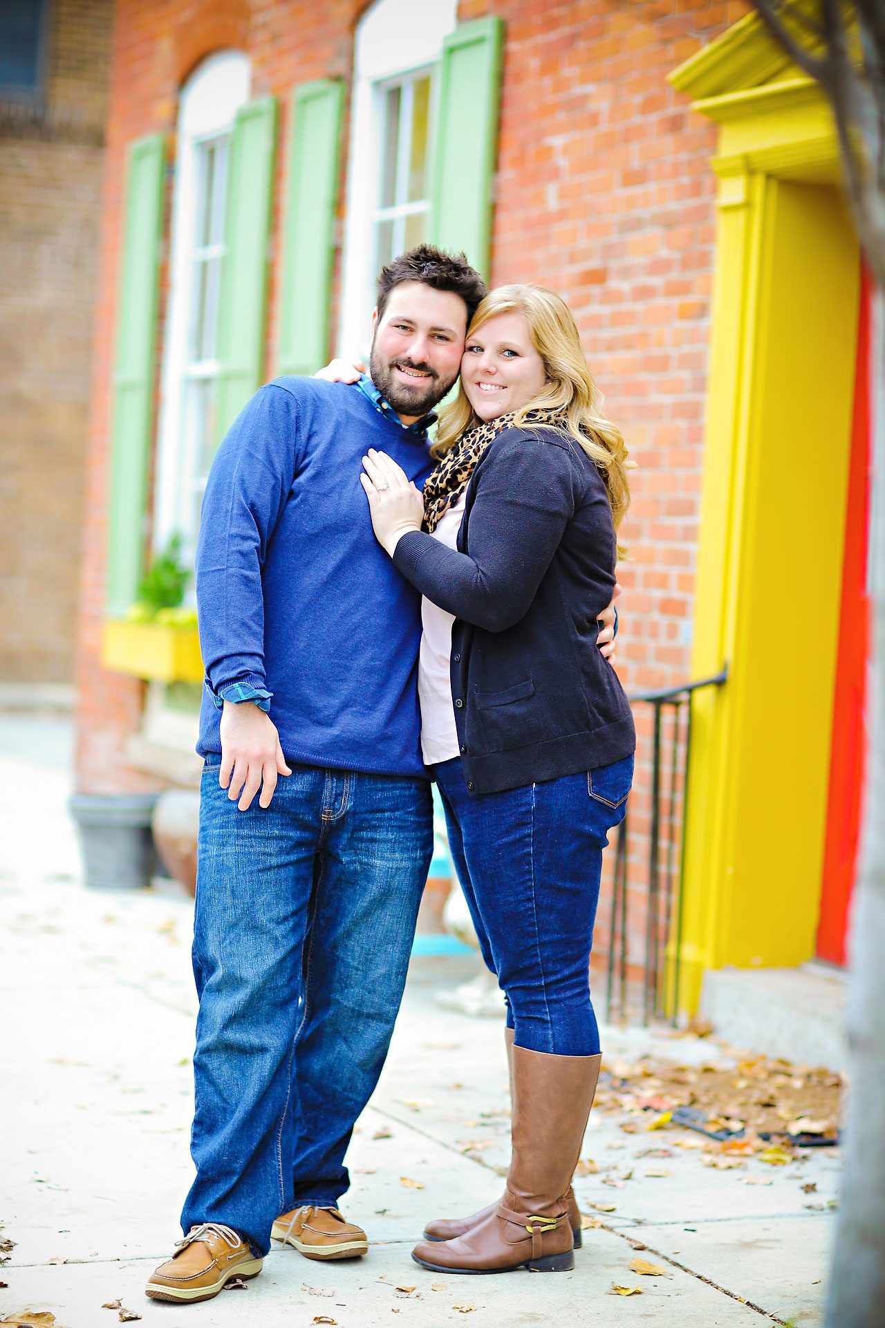 026 Kellie Greg Zionsville Engagement Session