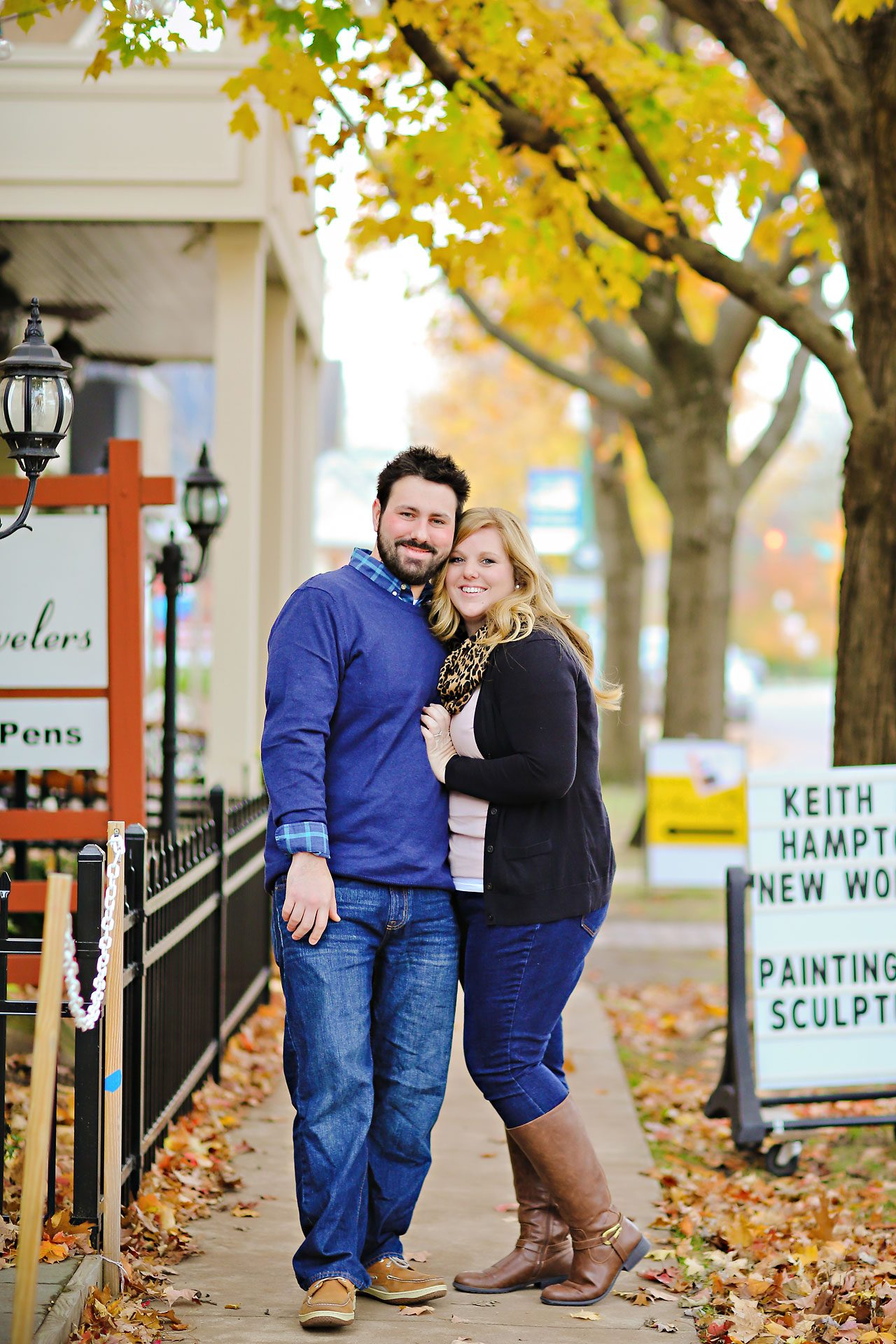 039 Kellie Greg Zionsville Engagement Session