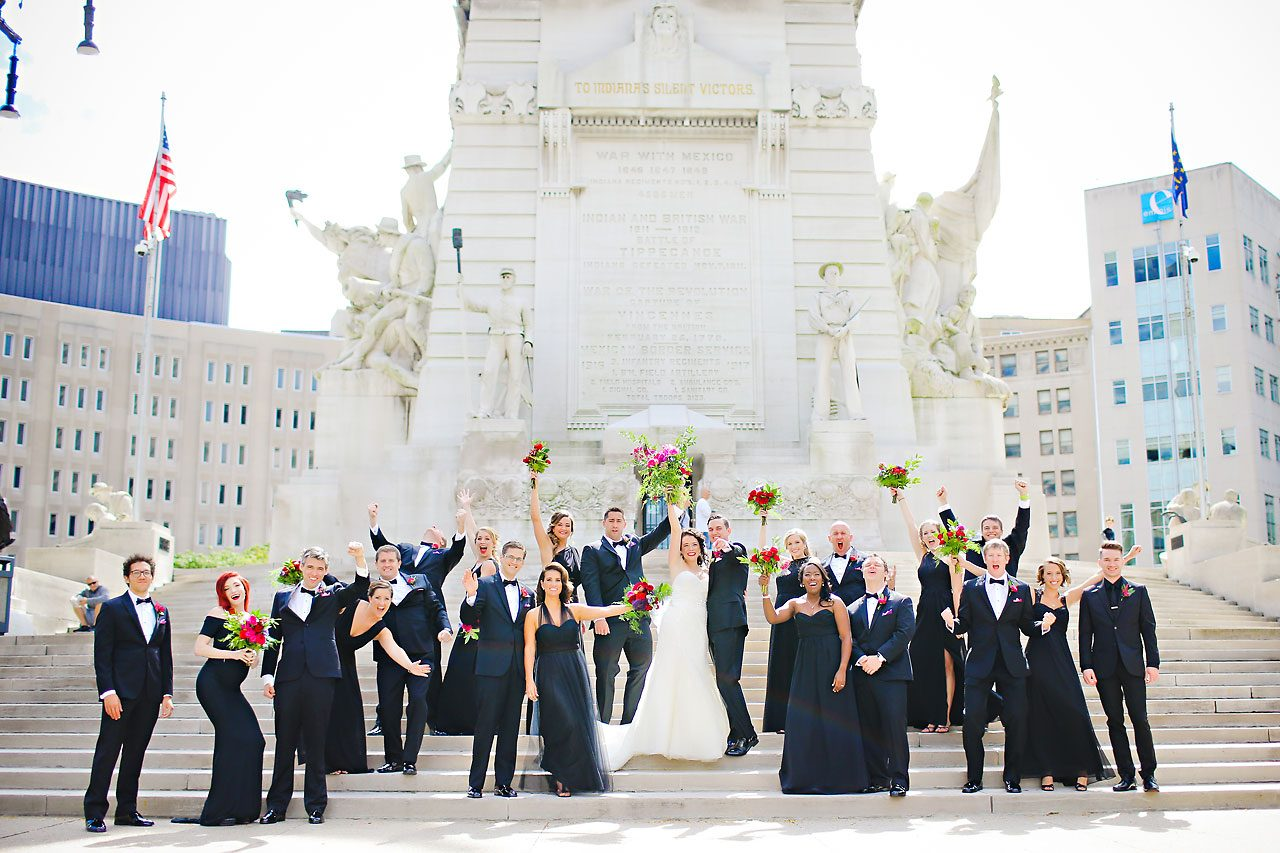 059 Liz Eric Indiana Landmarks Wedding