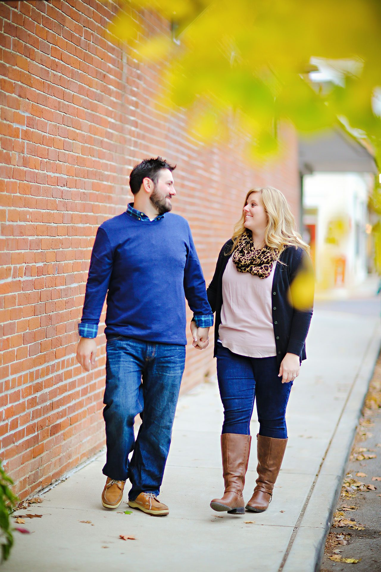 060 Kellie Greg Zionsville Engagement Session