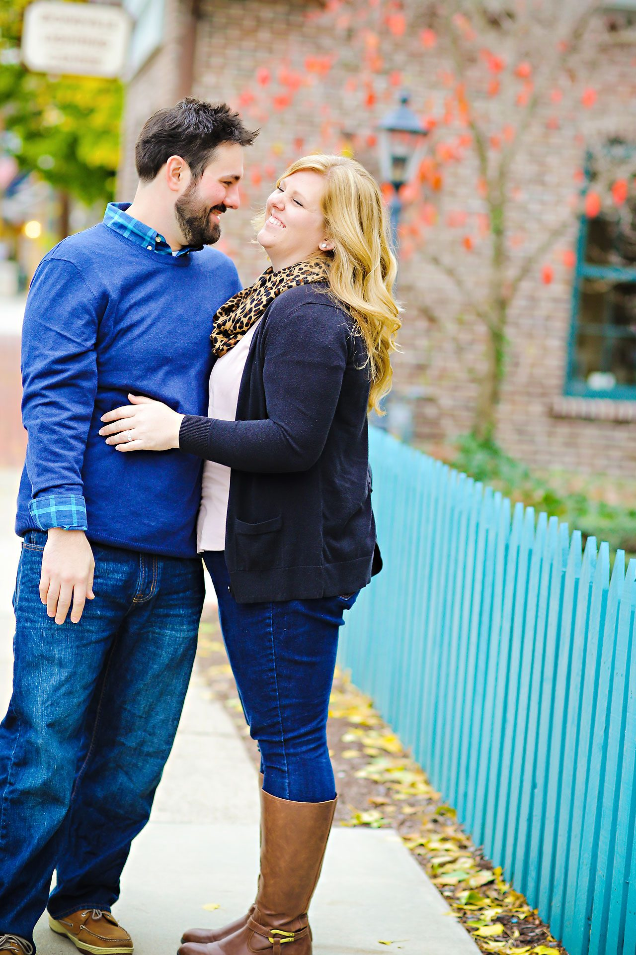 063 Kellie Greg Zionsville Engagement Session