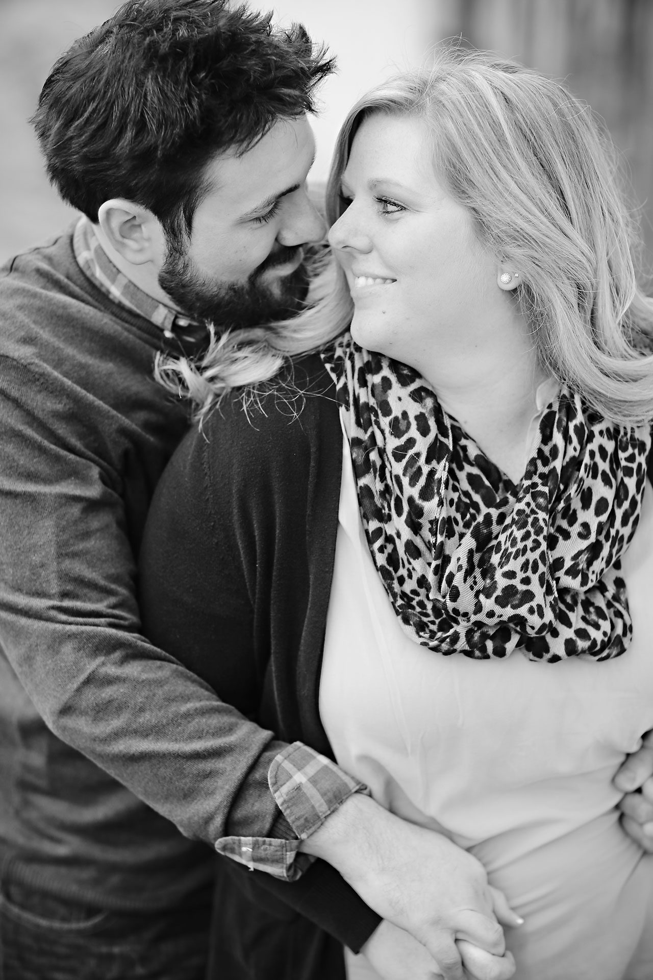 073 Kellie Greg Zionsville Engagement Session