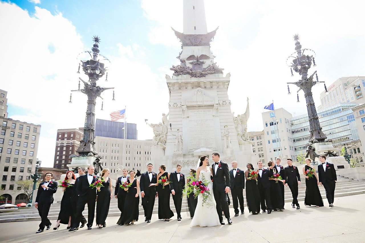 073 Liz Eric Indiana Landmarks Wedding