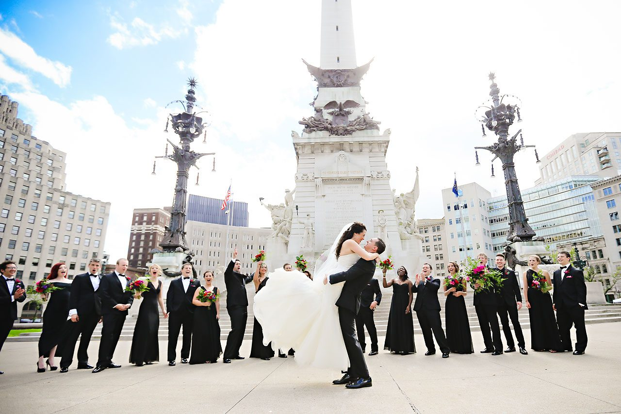 081 Liz Eric Indiana Landmarks Wedding