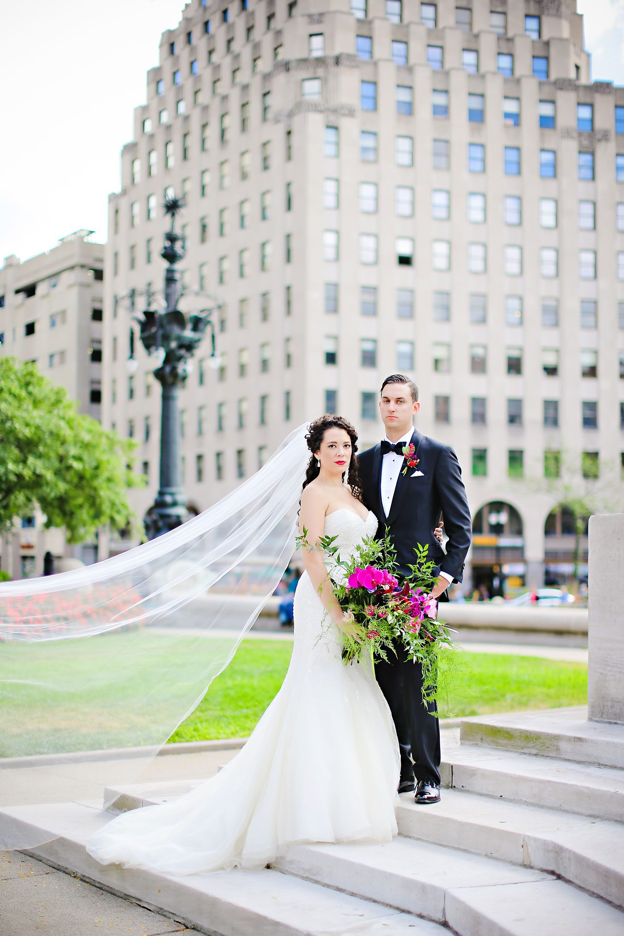 087 Liz Eric Indiana Landmarks Wedding