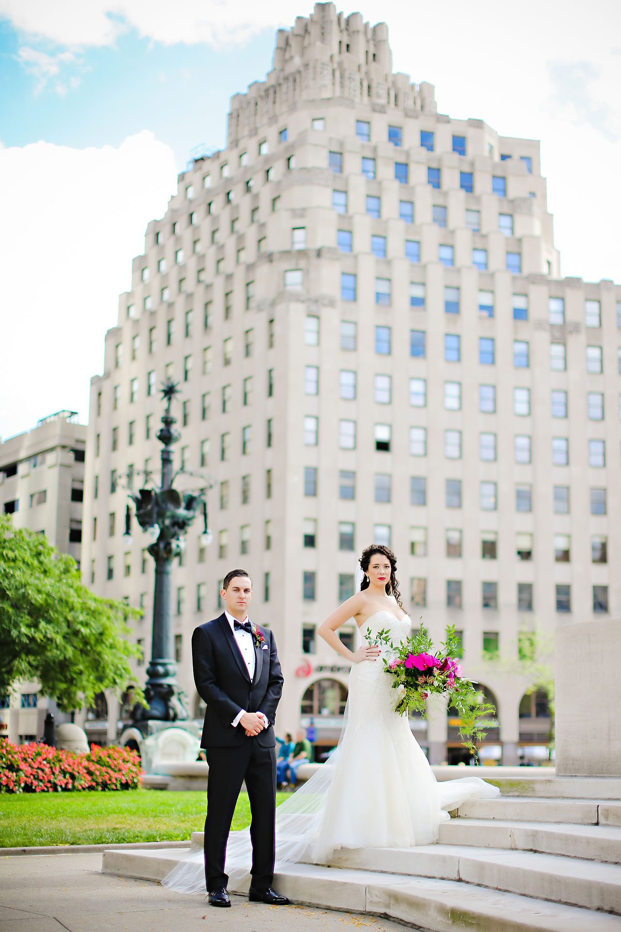 094 Liz Eric Indiana Landmarks Wedding