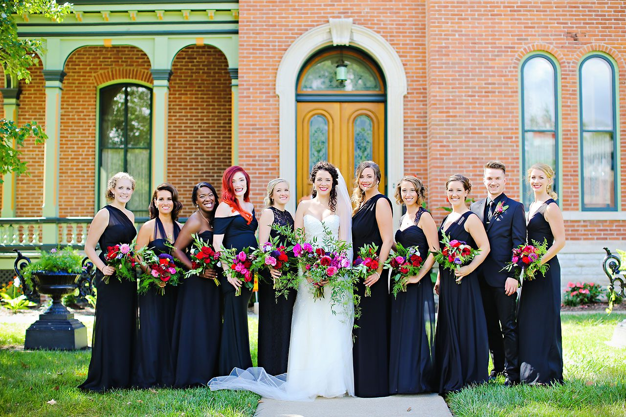 161 Liz Eric Indiana Landmarks Wedding