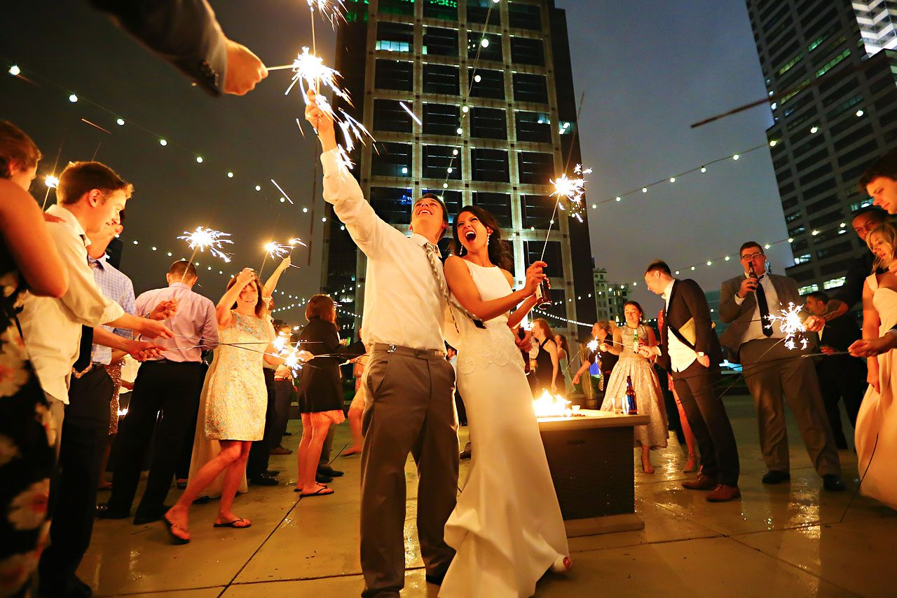 Mimi Jake Regions Tower Wedding 1