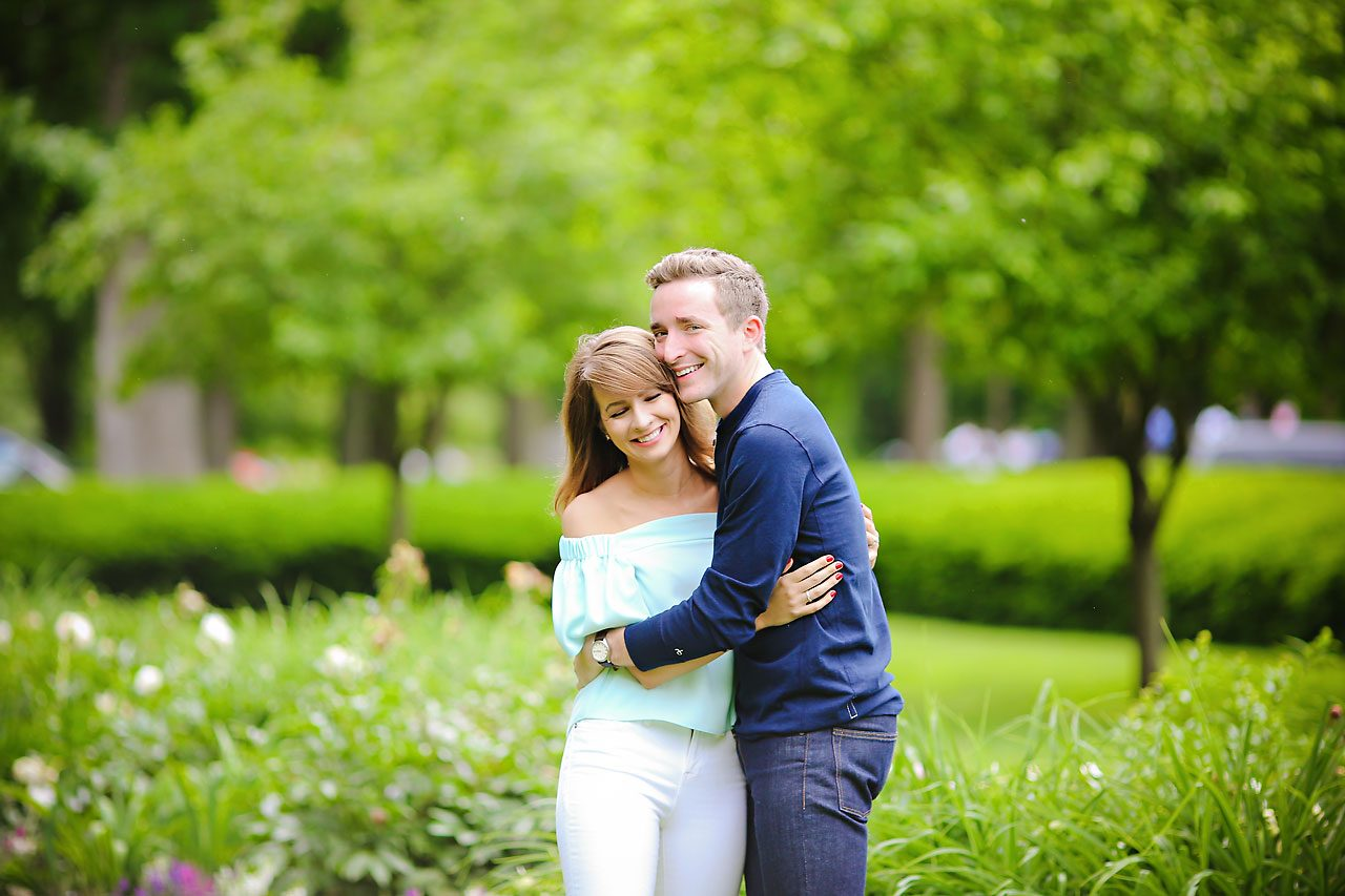 016 Meredith Aaron Indianapolis Engagement Session