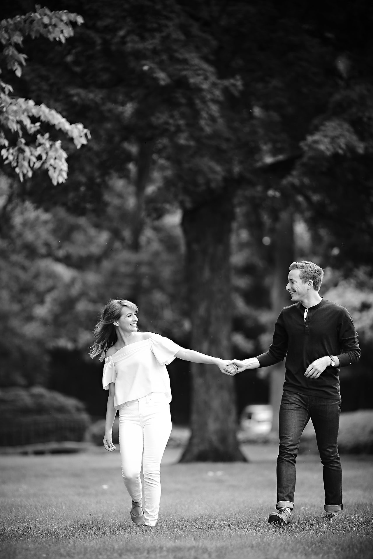 017 Meredith Aaron Indianapolis Engagement Session