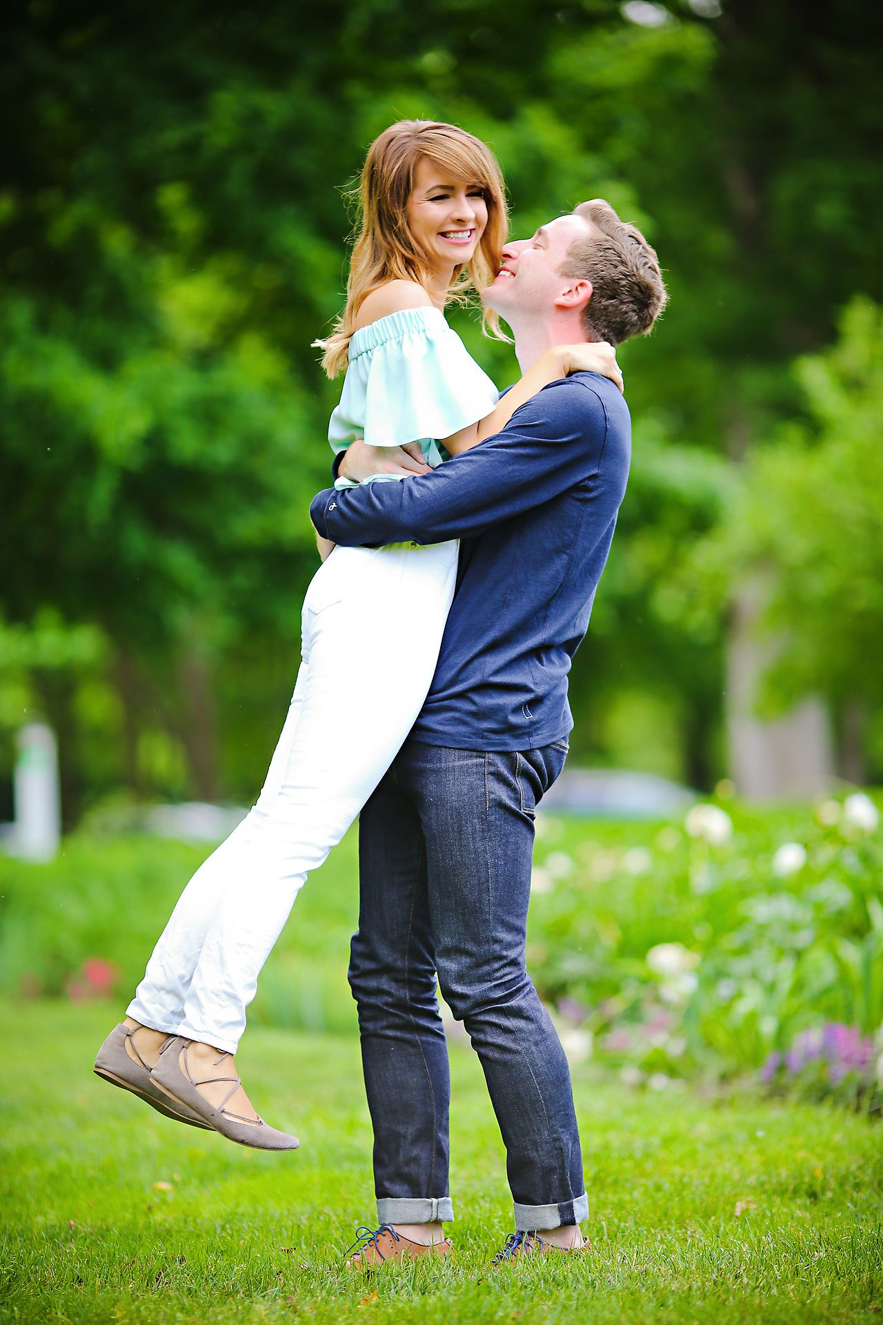 018 Meredith Aaron Indianapolis Engagement Session