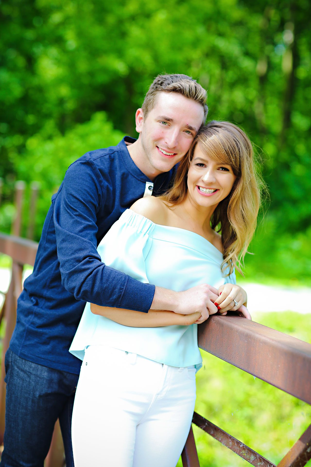 020 Meredith Aaron Indianapolis Engagement Session
