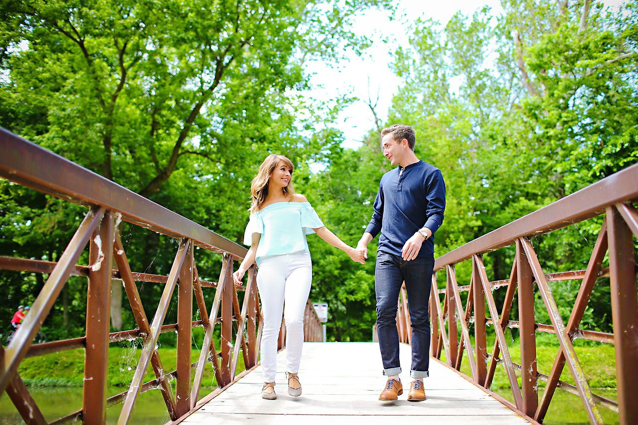 024 Meredith Aaron Indianapolis Engagement Session