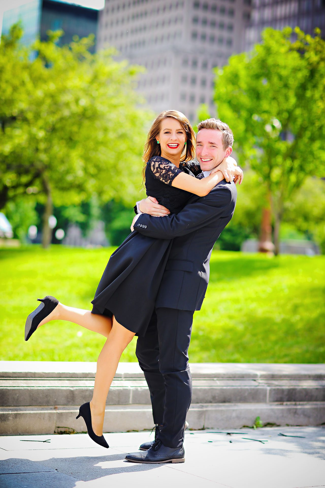 080 Meredith Aaron Indianapolis Engagement Session
