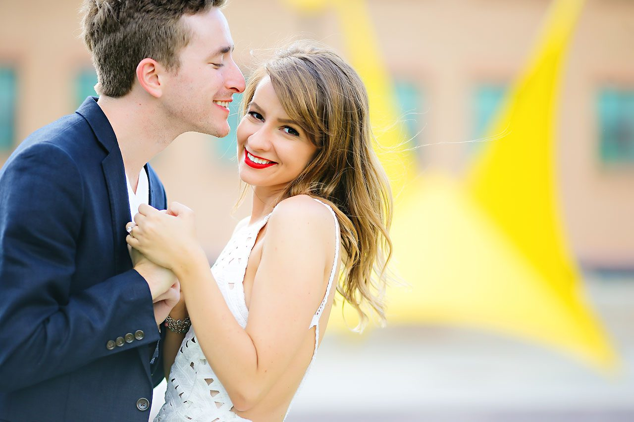 Meredith Aaron Indianapolis Engagement Session