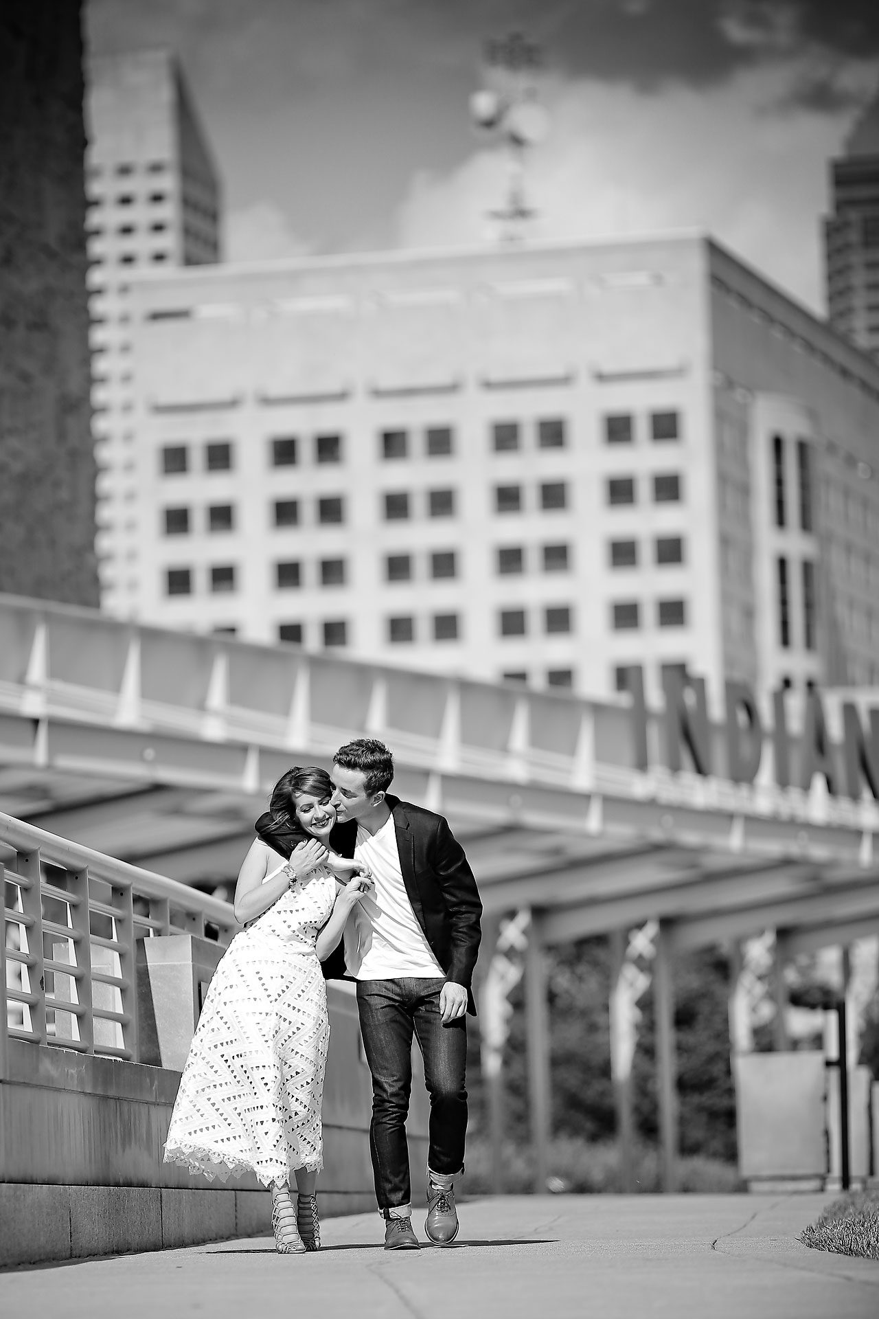 158 Meredith Aaron Indianapolis Engagement Session