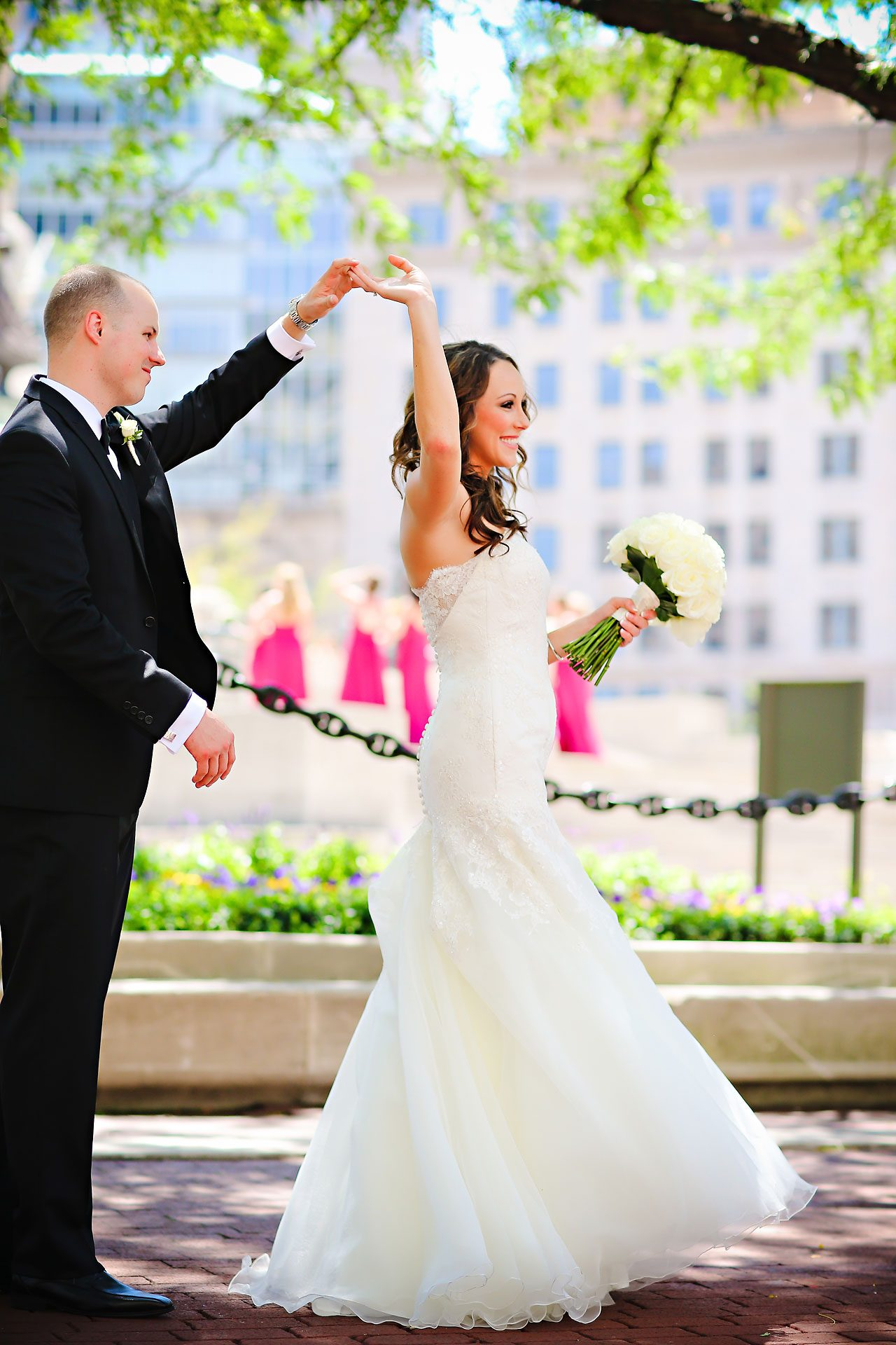 Alli Brett Indianapolis DAmore Wedding 117