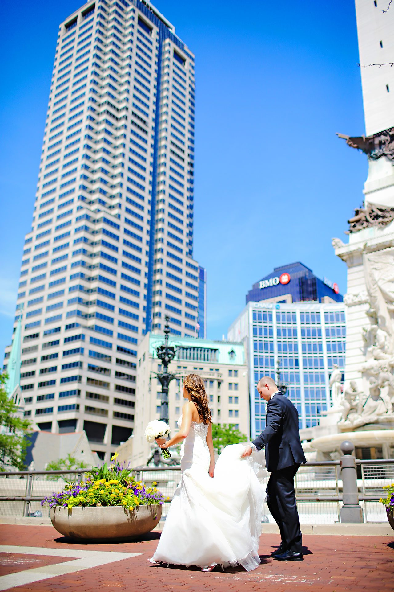 Alli Brett Indianapolis DAmore Wedding 135