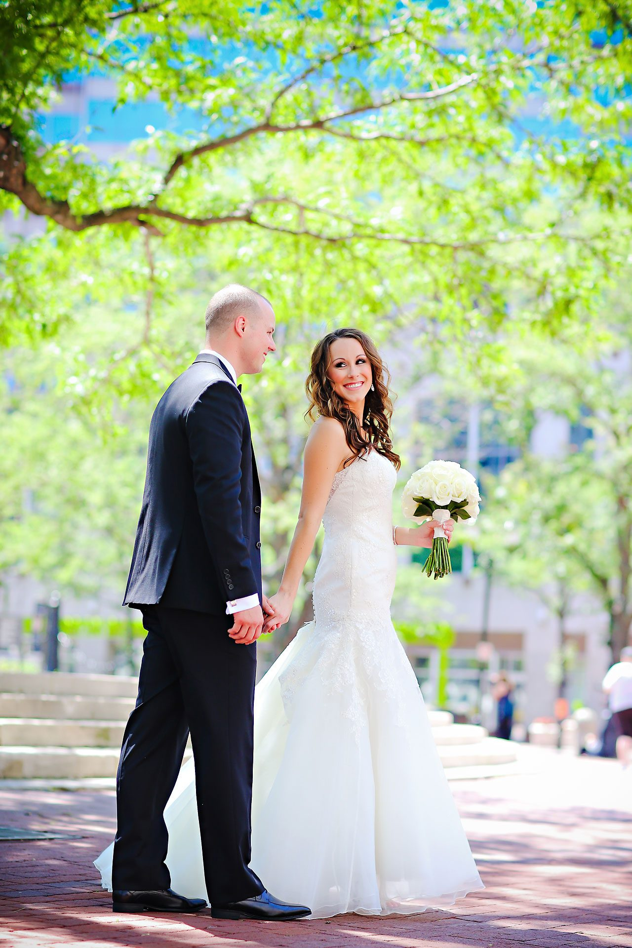 Alli Brett Indianapolis DAmore Wedding 139