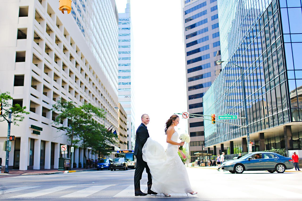 Alli Brett Indianapolis DAmore Wedding