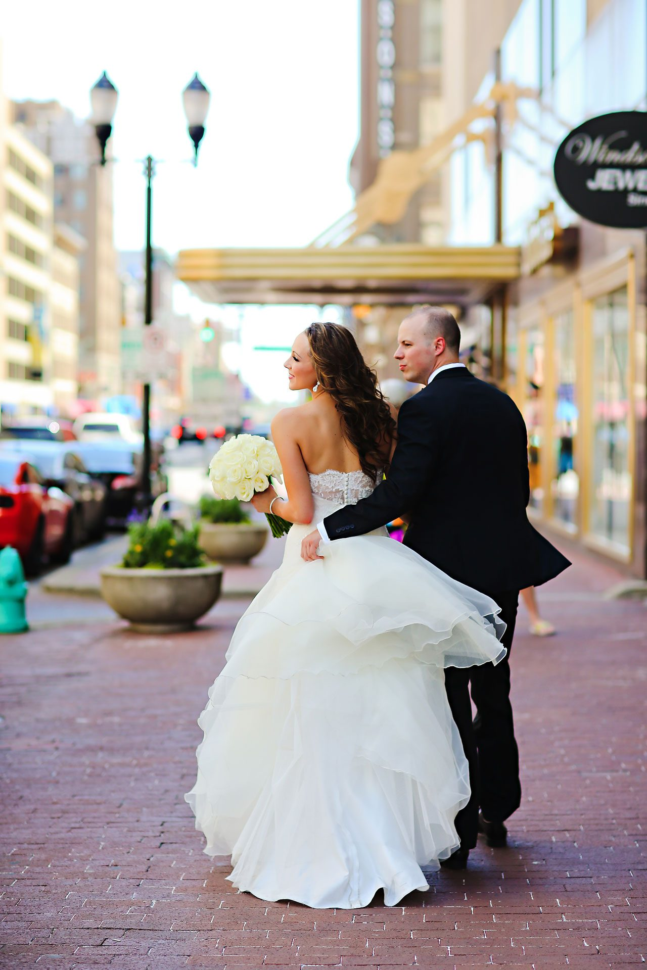 Alli Brett Indianapolis DAmore Wedding 161