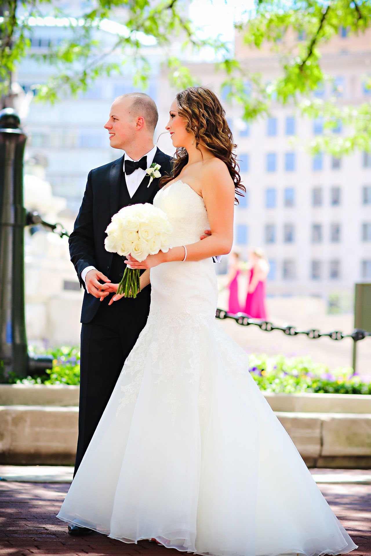 Alli Brett Indianapolis DAmore Wedding 166