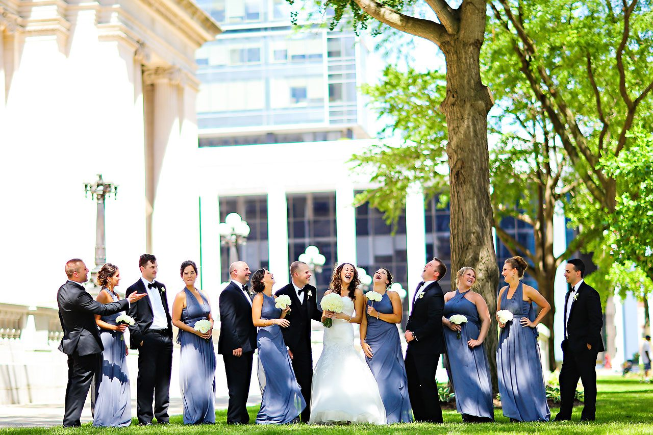 Alli Brett Indianapolis DAmore Wedding 170