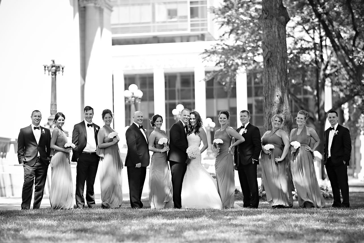 Alli Brett Indianapolis DAmore Wedding 179