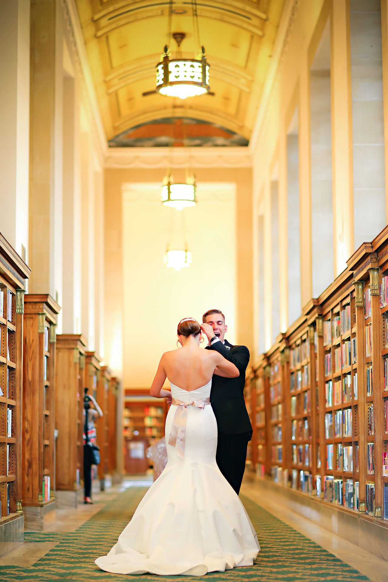 Christine Ryan Indianapolis Central Library Wedding 048