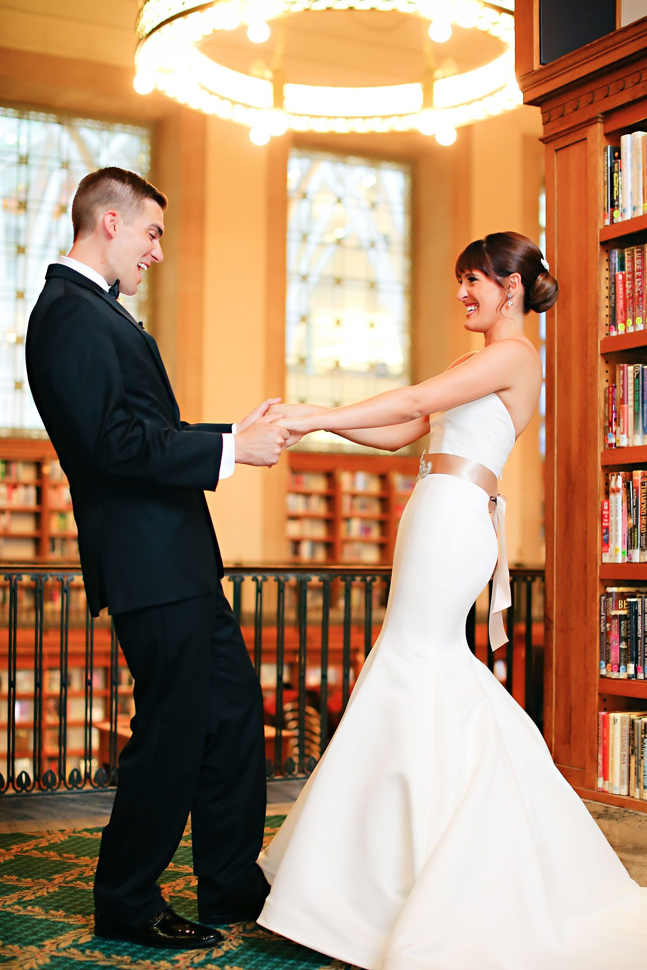 Christine Ryan Indianapolis Central Library Wedding 063
