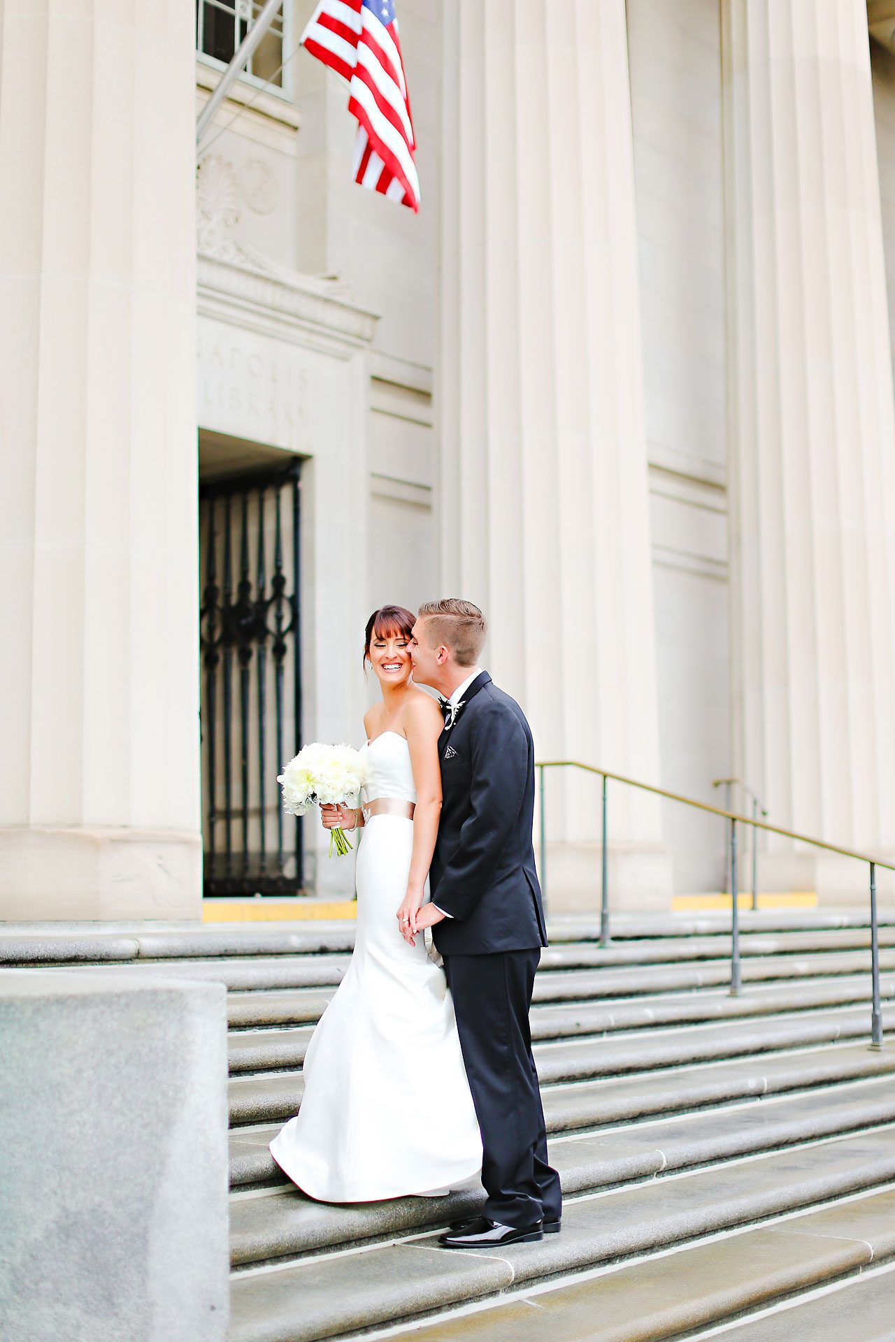 Christine Ryan Indianapolis Central Library Wedding 137