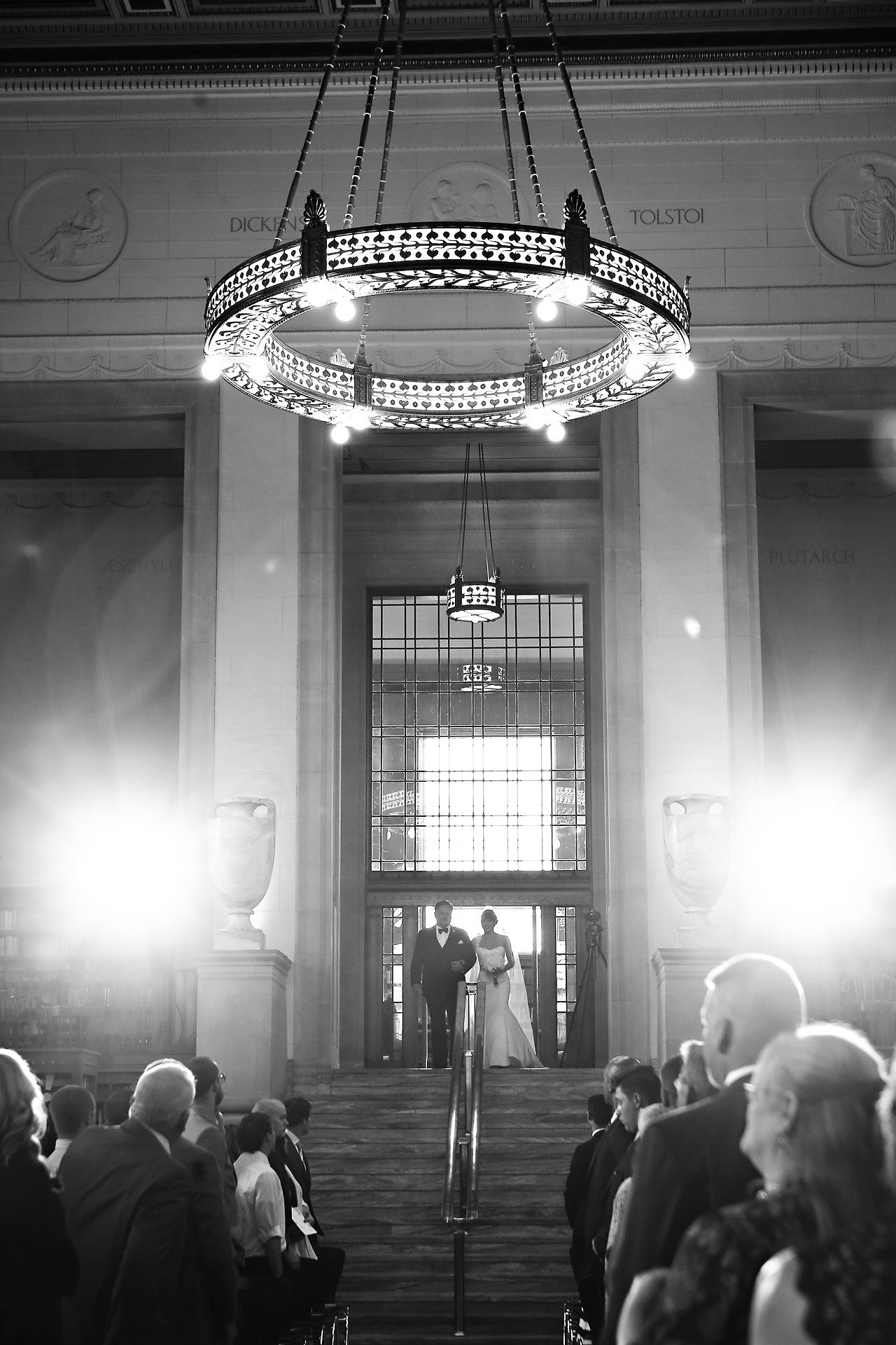 Christine Ryan Indianapolis Central Library Wedding 161