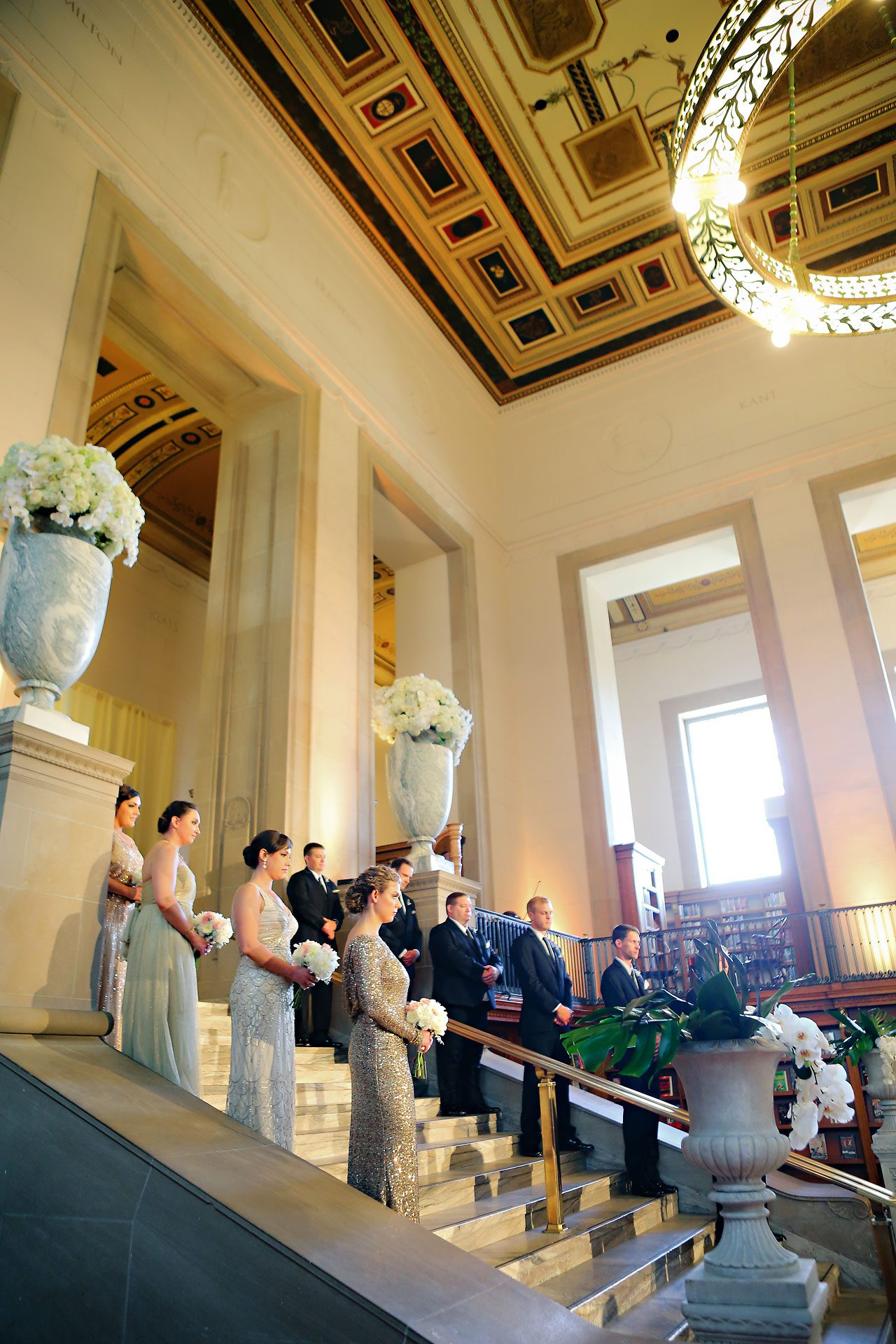 Christine Ryan Indianapolis Central Library Wedding 167