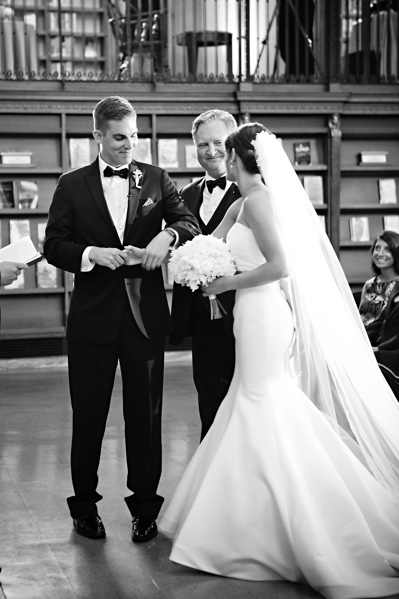 Christine Ryan Indianapolis Central Library Wedding 168