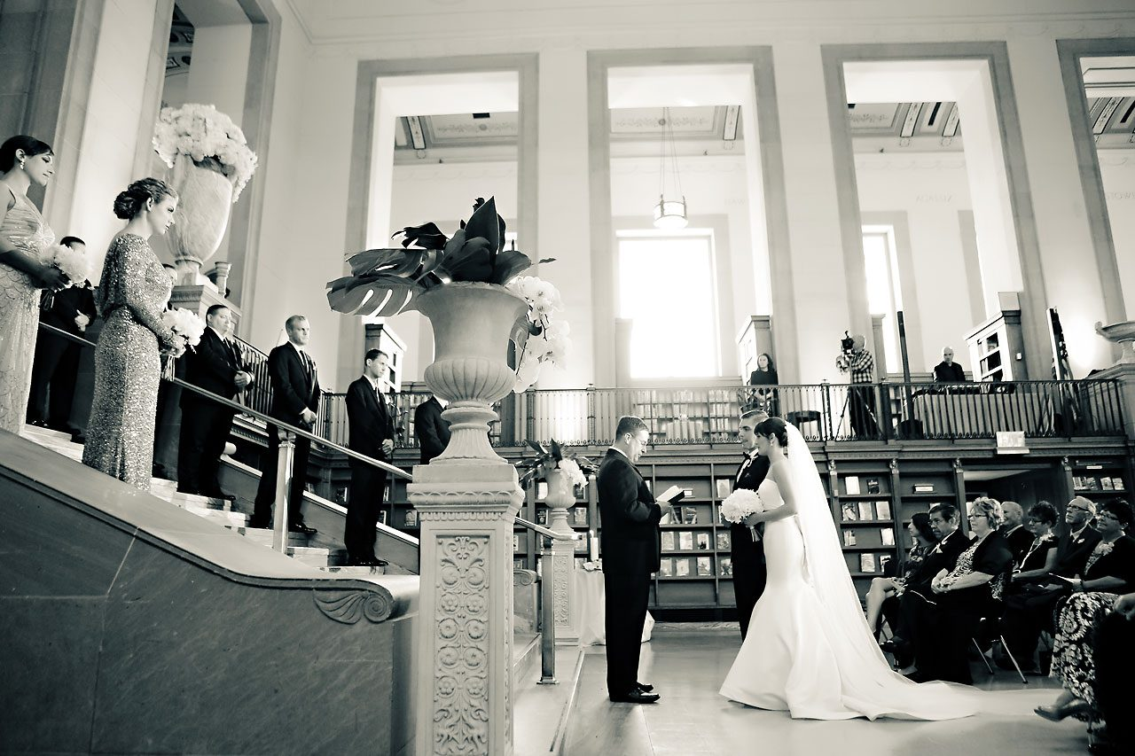 Christine Ryan Indianapolis Central Library Wedding 171