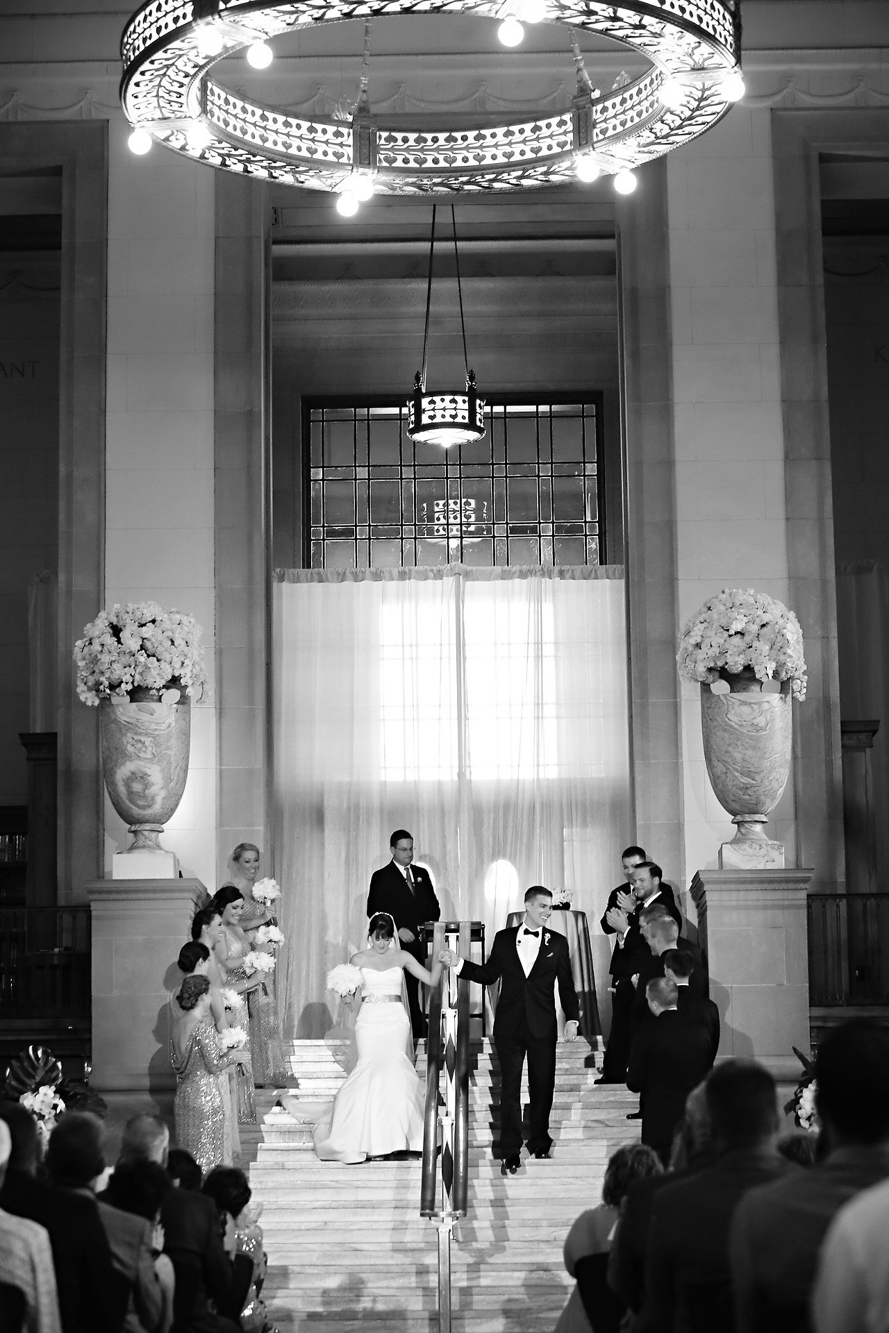 Christine Ryan Indianapolis Central Library Wedding 177